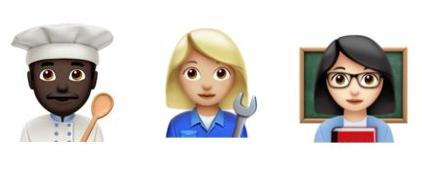 Worker emojis
