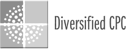Diversified CPC logo in black and grey