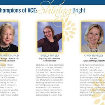 ACE Outstanding Volunteers