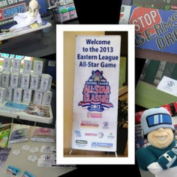 Collage of images for Eastern League All-Star Classic