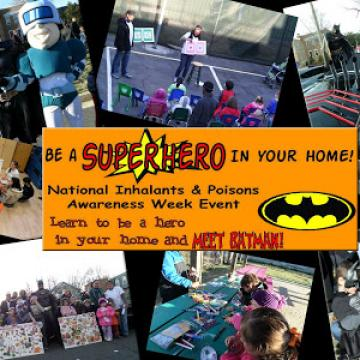 Be a superhero in your home event collage
